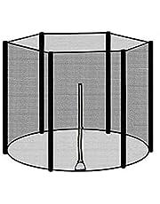 6-150 قدم في الهواء الطلق الترا مبولين واقية صافي متين مزود بمشذٍ من mens