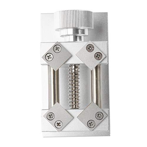 Cocosity Remoción de Bisel de Reloj, Herramienta de extracción de Bisel de Relojes Duradera, Banco de Trabajo para Herramienta de Apertura de Reloj(Silver)