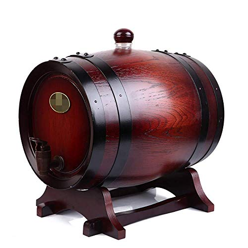 Barril de roble, cubo de hielo Enfriador de cerveza Abrazadera de enfriador de barril de vino Barriles de vino de roble, barriles de fabricación propia de alto grado sin barriles de roble de cálculos