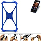 K-S-Trade Mobile Phone Bumper compatible with Allview X4