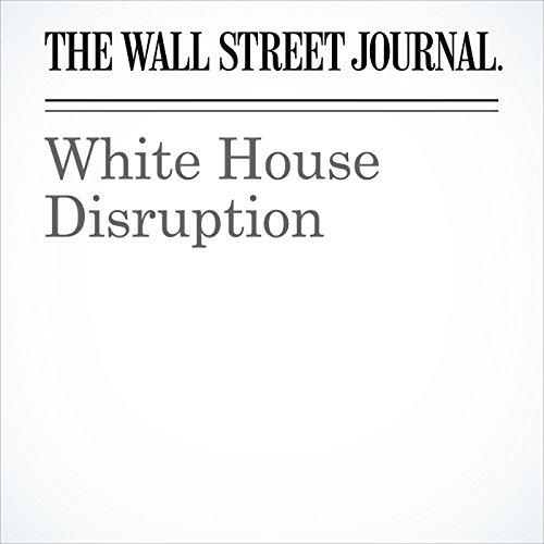 White House Disruption copertina