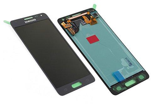 Samsung Galaxy Alpha G850F LCD Display Anzeige Bildschirm Touchscreen Touch Glas Schwarz GH97-16386A