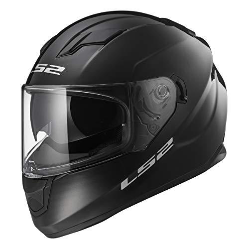 LS2 Helmets Full Face Stream Street Helmet (Gloss Black - X-Large)