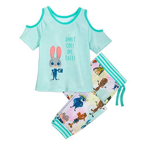 Disney Judy Hopps Pajama Set for Girls - Zootopia Size 9/10 Multi