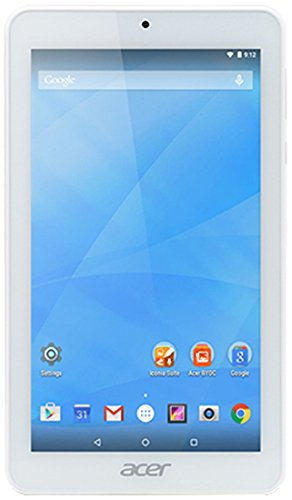 Acer Iconia One 7 B1-770 16GB White - tablets (Full-size tablet, Android, Slate, Android, White, Lithium Polymer (LiPo))