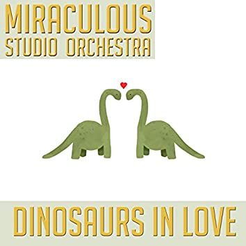 Dinosaurs in Love (Cover)