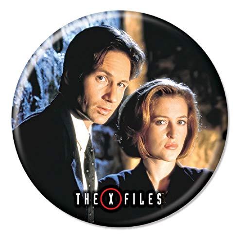 Ata-Boy Colección de botones X-Files de 1.25 pulgadas - - talla única