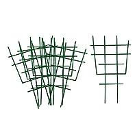 #N/A 6個/個ミニつる植物トレリス耐久性のある巻線がガーデントレリスをサポート
