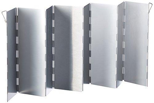 Relags Alu, faltbar Windschutz, Silber, 78x26cm