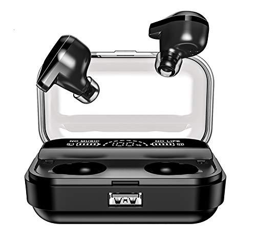BeYourself T10 TWS Wireless Earphone   HiFi Sound   Bluetooth 5.0   IPX7 Wasserdicht Sport Stereo Kopfhörer   Smart LCD Digitalanzeige Ladekoffer