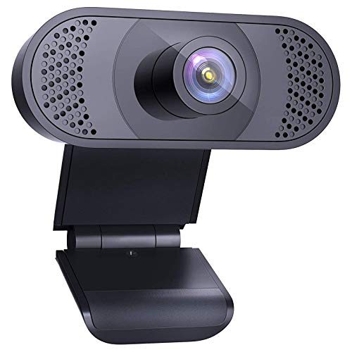 wansview PC Webcam 1080P con Microfono, Webcam per Laptop, Computer, PC, Desktop con Correzione Automatica di Luce, per Video dal Vivo, Conferenze, Videochiamate, Lezioni Online e Giochi…