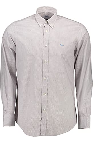 Harmont&Blaine CRG026011781M Camicia, Bianco, L Uomo