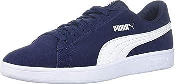 PUMA Men s Smash 2 Sneaker Peacoat-White 9.5 M US