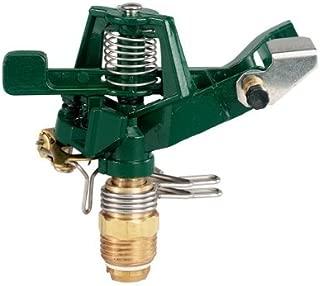 5 Pack - Orbit 1/2 Inch Zinc Impact Sprinkler Head, Lawn and Yard Watering