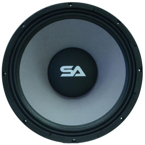 Seismic Audio - 18' Raw Subwoofers/Woofers/Speakers - PA DJ Pro Audio Replacement Sub - 500 Watts RMS - 120 oz Magnet - 8 Ohms - 4' Voice Coil