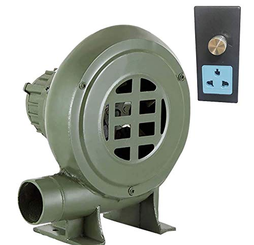 YANGSANJIN Blower, Electric Grill Blower - Centrifugale Gietijzeren Blower - Indoor Open haard Ventilator - 220V voor BBQ,100W