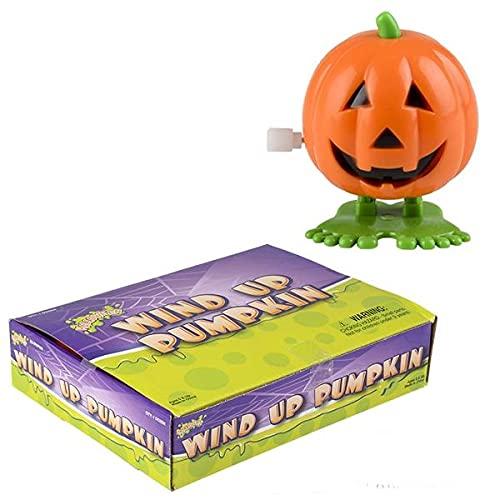 Happy Deals~ Wind Up Pumpkins   12 Pack   2 inch