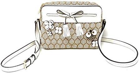 Kate Spade Hayes Bee Embellished Camera Bag Natural product image