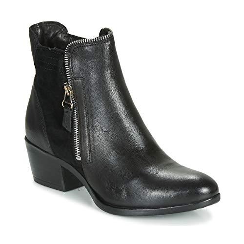 MJUS DALLAS-DALLY Enkellaarzen/Low boots dames Zwart Laarzen