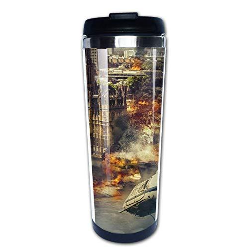 Taza de café de Acero Inoxidable Taza de café Reutilizable Adecuada para Viajes y Trabajo al Aire Libre Taza Tazas,Paisaje del Big Ben