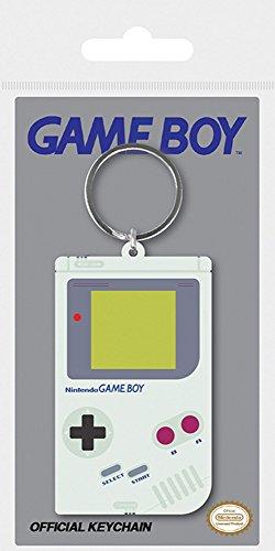 Nintendo - Gameboy - Gummi Schlüsselanhänger Keyring - 4,5x6 cm