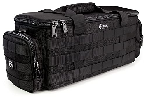 Mission Darkness Padded Utility Faraday Bag // Signal Blocking, Data Privacy, EMP Protection // Shields Delicate Electronics (Night Vision Goggles, Rifle Scopes, Cameras, Optics, Cell Phones)