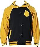 Nsoking Soul Eater Jacket Coat Soul Evans Cosplay Costume Halloween Costume Sports Jacket Hoodie (X-Large, Yellow)