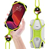 Bone Lanyard Phone Tie, Universal Cell Phone Lanyard Case, Silicone Neck Strap Smartphone Case for iPhone XS Max XS XR X SE2 8 7 6S 6 Plus Samsung Galaxy S10 S9 S8 Note 9, Google Pixel 3 XL LG, Phone Tie Series (Maru Penguin)