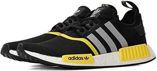 Adidas F99713 NMD_r1 Color para hombre., Negro (C, negro, plateado, ftwwht.), 42.5 EU