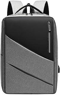 Fmdagoummzibeib Backpack, Polyester Corporeal, Business/Slender/Lasting/Travel Backpacks Withfor USB Charging Port, 15.6 I...