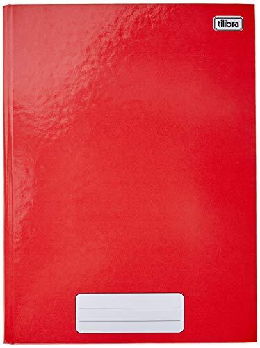Caderno Brochura Capa Dura Universitário, Tilibra, Pepper, 20x27.5cm, 80 Folhas, 1 Matéria, Vermelho