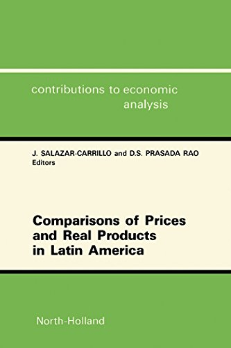 Comparisons of Prices and Real Products in Latin America (ISSN) (English Edition)