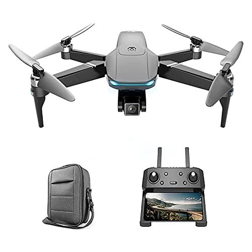 JAJU Drone Quadcopter 6K FPV Camera Video in Diretta per GPS 56 min Tempo di Volo, Trasmissione WiFi 5G, Raggio di Controllo 3000m, Motore Senza spazzole, Ritorno Automatico, Anti-Perso, Batteria 2