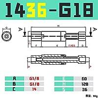 BXU-BG GIMATIC VGN1010 / 1421回転防止バッファハードウェアCRG VFN1011-M5 / 1436-G10 (Color : VFN1436 G18)