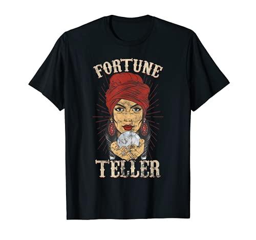 Zigeunerin Fortune Teller Psychic Shirt – Wahrsager-Kostüm T-Shirt