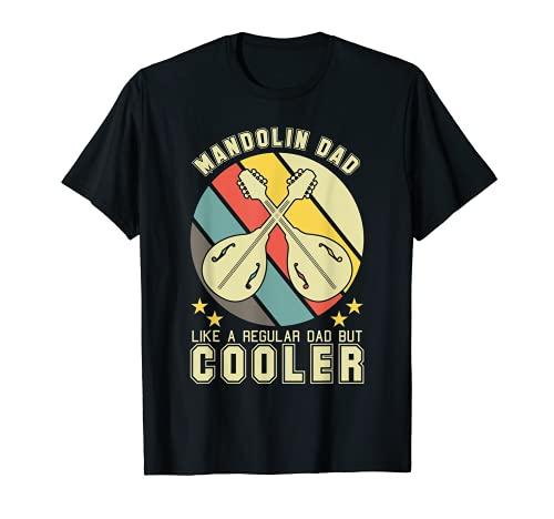 Mandoline Vater Retro - Mandolina musical Camiseta