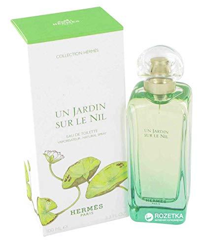 Hermes Un Jardin Sur Le Nil Eau De Toilette Spray 3.4 Ounce