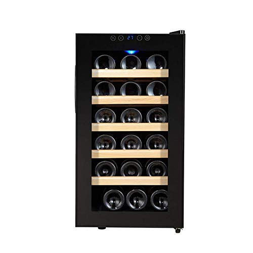 CHENMAO Multifunctional Wine Stand-alone Wine Cabinet, Silent Operation Refrigerator, Blue Interior Lighting, Suitable for Home Kitchen Wine Cellar