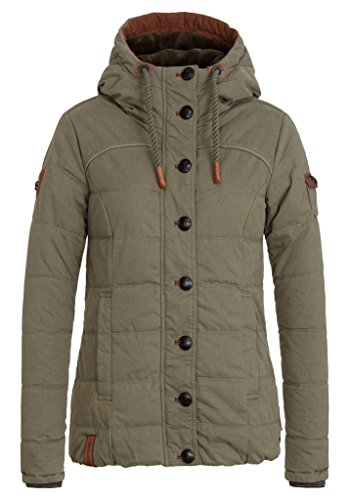 Damen Jacke Naketano Breakfast Club III Jacke, Olive, Gr. S
