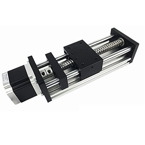 DJDLOK CNC Mesa de Diapositiva de Movimiento de la Etapa Lineal Sfu1605 Accionador de Tornillo de Bolas NEMA 23 Módulo Motor Impresora 3D XYZ Kit de Brazo robótico