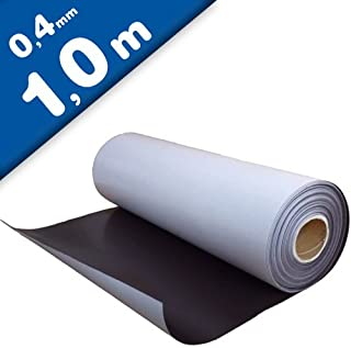 Lámina magnética autoadhesiva 0,4mm x 0,62m x 1m - puedes adherir otros materiales como por ejemplo fotografías, cartulina, papel, y todo lo que te brinde tu imaginación.