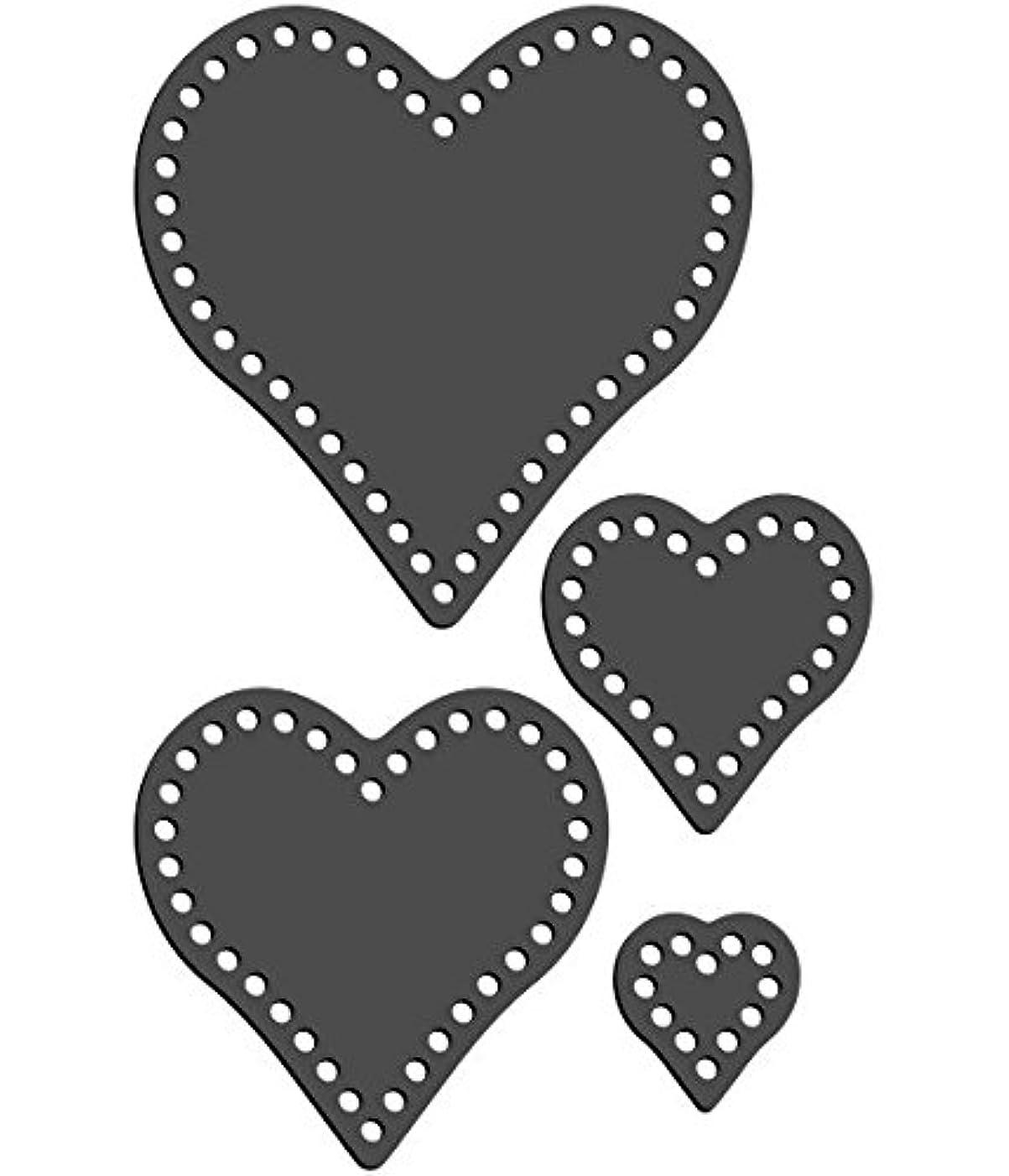 Rhinestone Genie Hearts 010 Magnetic Rhinestone Template