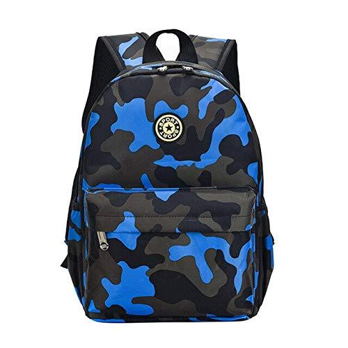 Het rea kamouflage barn ryggsäckar dagis väskor skola studenter söt tryck Oxford ryggsäck barnväska skolväskor 2 storlekar