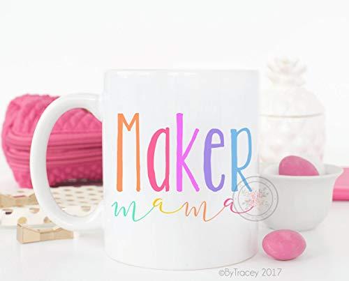 Mug-Maker Mama, Kaffeetasse, Maker, Gonna Make, Mompreneur, Kaffeetasse, Tasse, Etsy Shop Besitzer, Kaffee, Tasse mit Sprüchen, 325 ml