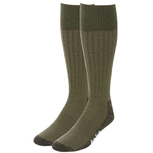 Teko Schwergewichts-Trekking Expedition Socken, Schwarz/Rot, S