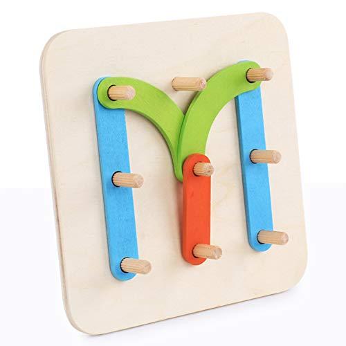 QZPM Puzzle De Montessori Juguete De Ortografía De Palabras, Educación Preescolar De Juguete Cognitivo De Desarrollo Educativo