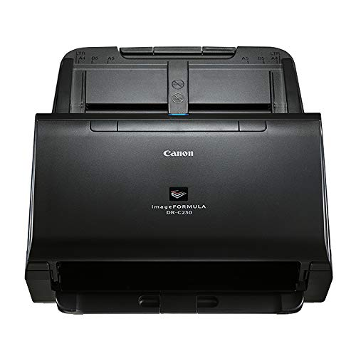 New Canon 2646C002 imageFORMULA DR-C230 Office Document Scanner,Black