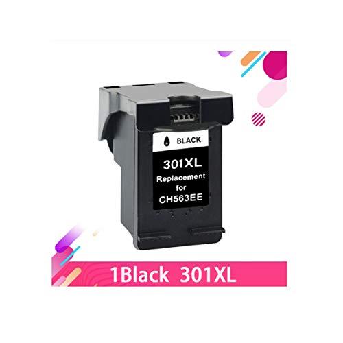THQC Reemplazo for HP 301 Cartuchos de Tinta HP Deskjet 301 XL 1510 1050 1510 2050 2000 2510 2540 3054 3050A Impresora Hp301 (Color : 1BK)