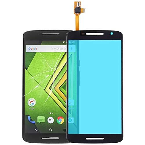 H-HX Ersatz Display Reparatur Touch Panel for Motorola Moto X Play (Schwarz) (Color : Black)