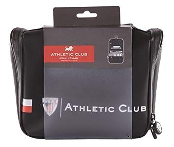 Athletic Club de Bilbao Neceser de Viaje - Producto Oficial del Equipo, con Percha para Colgar y Varias Alturas para Guardar Artículos de Aseo